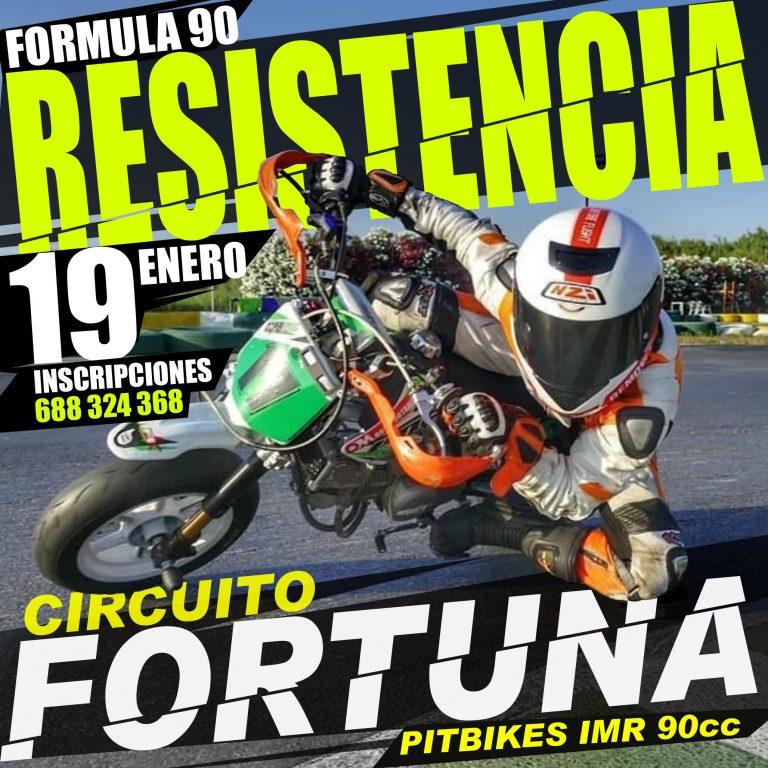 RESISTENCIA PIT BIKE EN FORTUNA!!