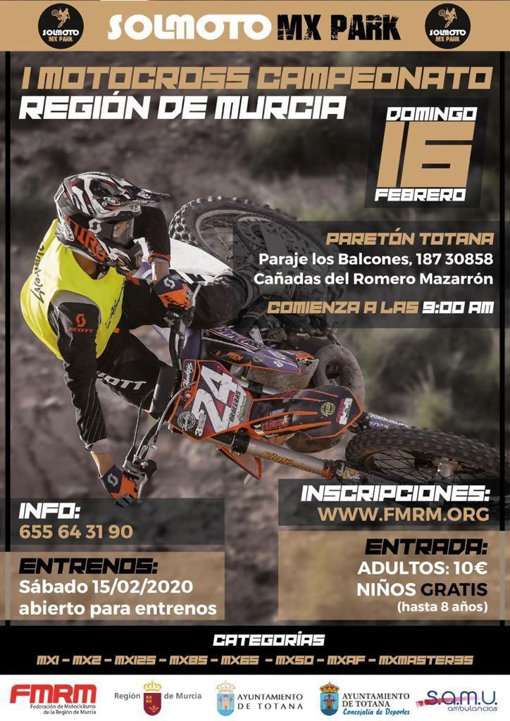 ¡ARRACA EL CAMPEONATO DE MOTOCROSS 2020¡