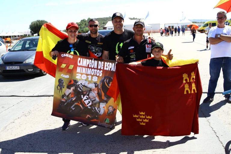 Primer Campeón de España Murciano de la Temporada