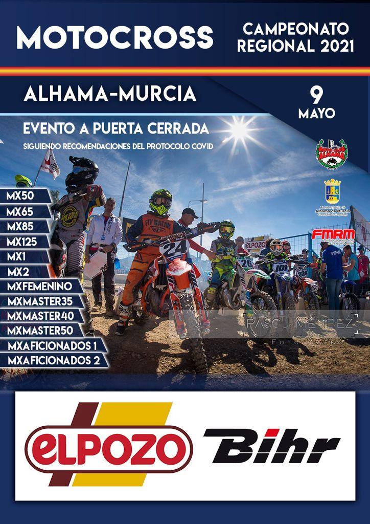 Abierto el plazo inscripción de la prueba de Motocross de Alhama