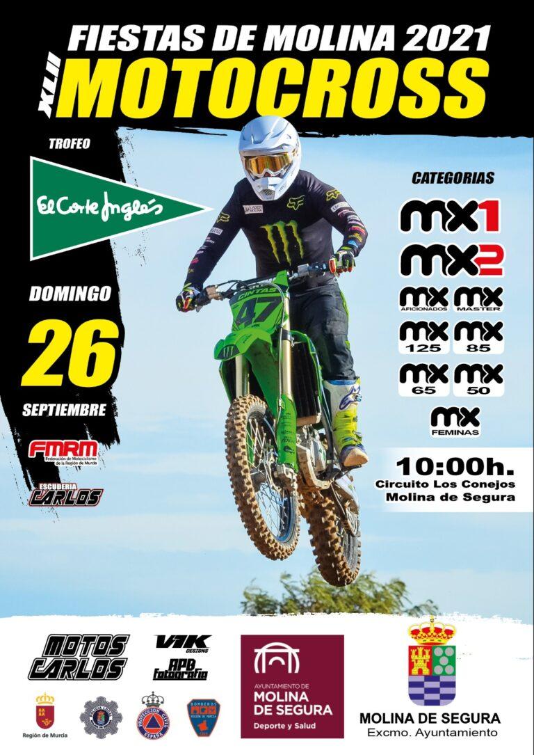 Abierto el plazo de inscripción para la Carrera de  Motocross de Molina.